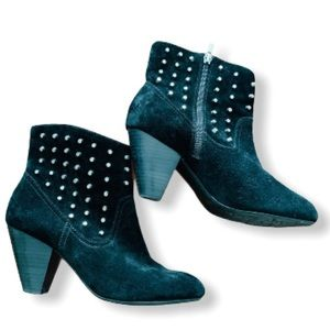Jessica Simpson studded suede boots